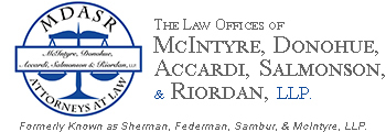 MDASR, LLP. :: Formerly known as Sherman, Federman, Sambur, & McIntyre, LLP. :: Representing New York's Workers for Over 60 Years