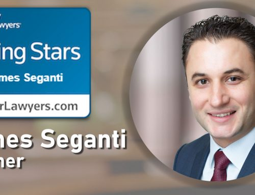 James Seganti Named 2020 Rising Star