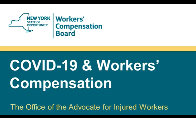 COVID-19 Workers' Compensation Claim